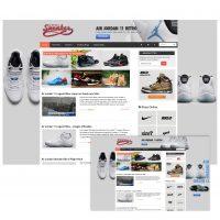 web design - AJ11 takeover